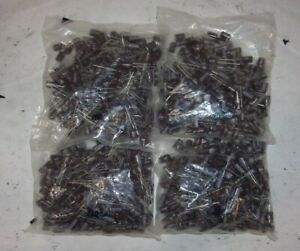 New Sealed Bag Lot Of 4 ncc 220uf 25v Radial Capacitors 200 Count Bags