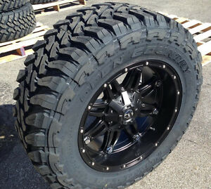 20x10 Fuel D531 Hostage 35 Toyo Mt Wheel And Tire Package Jeep Wrangler Jk Jl