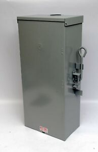 Ge Tc10324r Emergency Power Transfer Manual Double Throw Switch 200a Outdoor