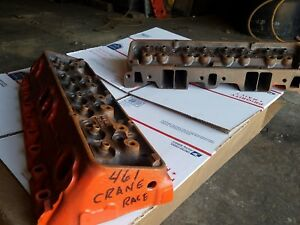 18 Chevy Camaro Nova Etc Crane Race Heads 350 327 283 383 400