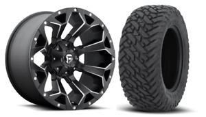 5 20x10 Fuel D546 Assault 33 Mt Wheel And Tire Package Jeep Wrangler Jl