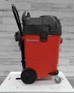 Used Husqvarna Wet dry Dc 1400 Shop Vac Water Remover Commercial Cleaning Vacuum