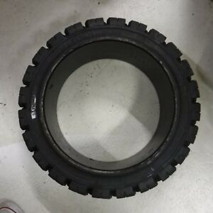 Magnum Solideal 18 X 6 X12 1 8 Forklift Tires Lift Truck Heavy Duty New