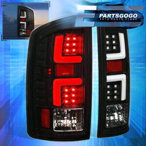 For 2002 2006 Dodge Ram 1500 2500 3500 Black White Led Tail Brake Light Lamps