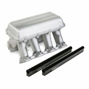 Holley 300 119 Intake Manifold For 2010 15 Camaro Blank Top Configurable Plenum