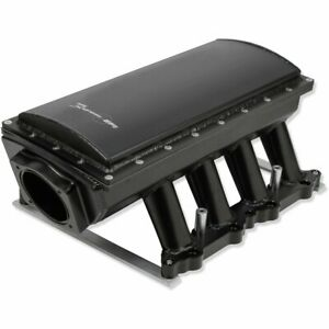 Holley 833152 Intake Manifold For 2011 2012 15 Ford F 150 Mustang 5l 8cyl Black
