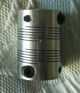 Ruland Manufacturing Stainless Steel Coupling 4 Beam Clamp Bore 5 8 X 3 4 New
