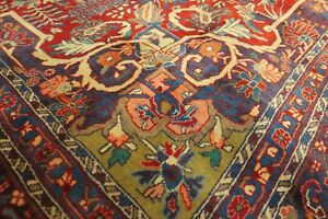 Authentic Wool Rnrn 184 7 1 X 10 8 Persian Bijar Rug