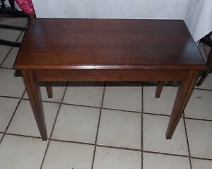Walnut Lift Seat Piano Bench Organ Bench Bn139