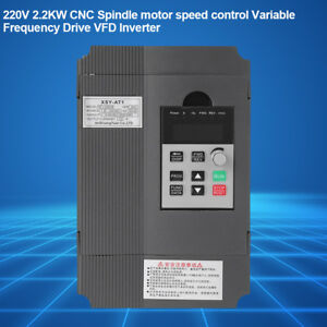 New 220v 2 2kw Spindle Motor Speed Control Variable Frequency Drive Vfd Inverter