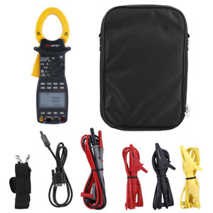 Ms2205 Peakmeter Professional 3 Phase Digital Clamp Meter Harmonic Power Tester