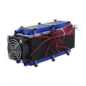 12v 576w 8 chip Tec1 12706 Diy Thermoelectric Peltier Cooler Air Cooling Devices