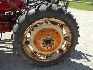 Armstrong 11 2x 38 Tires 98 Cockshutt 30 E3 Tractor Rims 9 Bolt Mount Centers