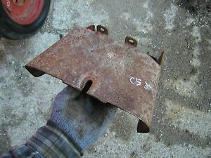 Cockshutt 30 Tractor Nice Original Power Take Off Pto Shield Cover