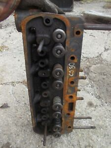 Cockshutt 30 Tractor Original Engine Motor Cylinder Head B556 Valves