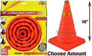 Bell Heavy Duty Collapsible Cone Traffic Safety Roadside Emergency Reflective