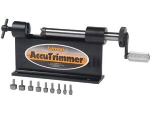 Lyman AccuTrimmer Case Trimmer  with 9-Pilot Multi-Pack