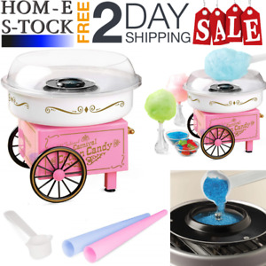 Cotton Candy Maker Machine Hard Candies Floss Sugar free Family Christmas Gift