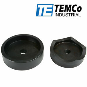 Temco 3 1 2 Conduit Punch And Die For Hydraulic Knock Out Driver 3 4 16 Thread