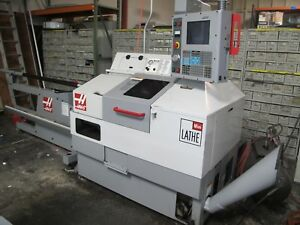 2004 Haas Mini Lathe Gang Style Cnc Turning Center 5c Collets Low Hours Bar Feed