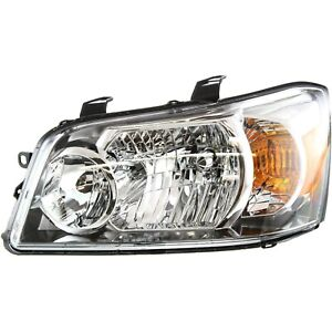 Headlight For 2004 2005 2006 Toyota Highlander Left With Bulb