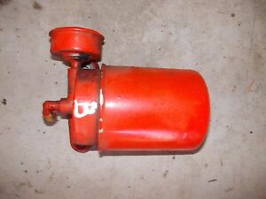 Allis Chalmers B C Tractor Ac Engine Motor Oil Filter Mounting Holder W