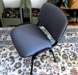 3 Global Armless Office Or Home Stacking Chairs Local Pickup Only Maryland d c