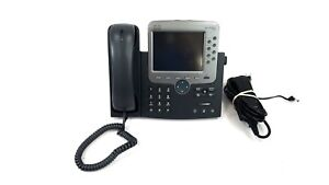 Cisco Cp 7970g Unified Voip Phone Color Display