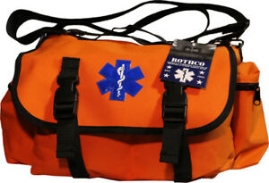 Emt Ems Trauma Bag Orange Paramedic Rescue Emergency Medical Response New