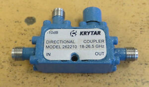 Krytar 262210 Directional Coupler 18 26 5ghz