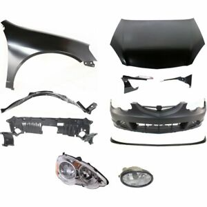 New Set Of 11 Auto Body Repairs Front Coupe Acura Rsx 2002 2004