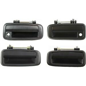 Exterior Door Handle For 1988 1992 Toyota Corolla Front And Rear Left Right