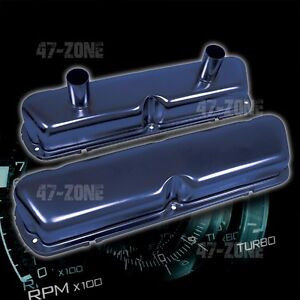 Steel 1962 85 Ford Sb 260 289 302 351w Circle Track Racing Valve Covers Blue