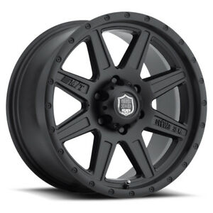 4 new 15 Inch Deegan 38 568sb Pro 2 15x10 5x5 5 48mm Matte Black Wheels Rims