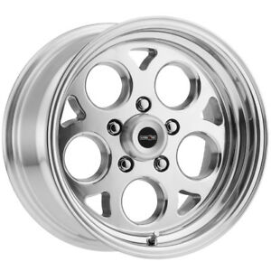 4 15 Inch Vision 561 Sport Mag 15x7 5x120 7 5x4 75 0mm Polished Wheels Rims