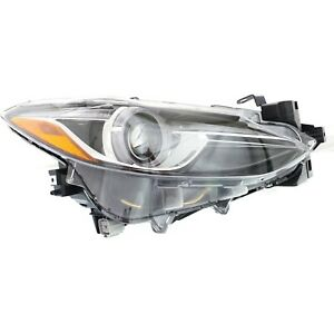 Headlight For 2014 2018 Mazda 3 Passenger Side
