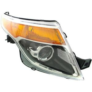 Headlight For 2011 2015 Ford Explorer Passenger Side