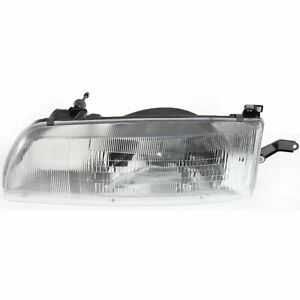 Headlight For 91 92 93 Toyota Previa Left Clear Lens With Bulb
