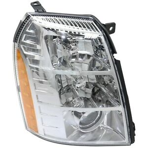 Headlight For 2007 2008 2009 Cadillac Escalade Right Hid With Bulb
