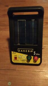 Zareba Esp5m z 5 mile Solar Low Impedance Charger 6 Volt