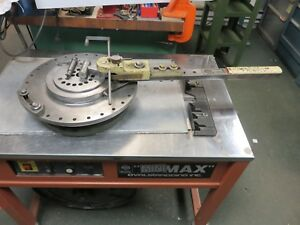 Di acro Bender No 2 Diacro 2 Factory Paint Rotary Bender Excellent