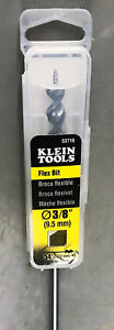 Klein Tools 53716 3 8 inch By 54 inch Flex Bit Auger With Screw Point