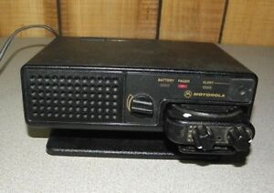 Motorola Minitor Iv 4 Vhf Pager 151 158 9 Mhz With Nyn8348a Amplified Charger