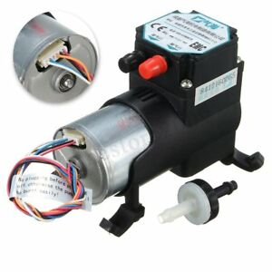 Dc12v 5l min Mini Air Vacuum Pump Pwm Diaphragm Negative Pressure Suction Pump