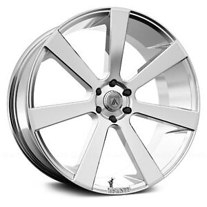 Asanti Abl 15 Wheel 22x9 35 6x120 65 66 9 Chrome Single Rim