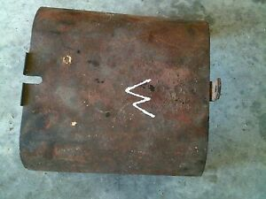 Farmall M Mv Early Sm Tractor Original Ih Power Take Off Pto Shield Cover