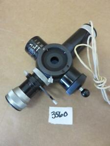 Zeiss Camera Viewfinder Beam Splitter For Microscope