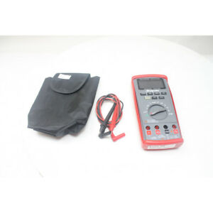 Auto range Digital Multimeter With True rms And Backlit Color Display