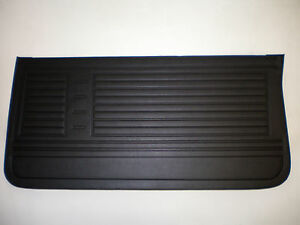 67 Chevelle And El Camino Front Door Panel Set