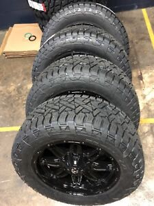 20x9 Fuel D625 Hostage 33 At Wheel And Tire Package 6x5 5 2019 Ram 1500